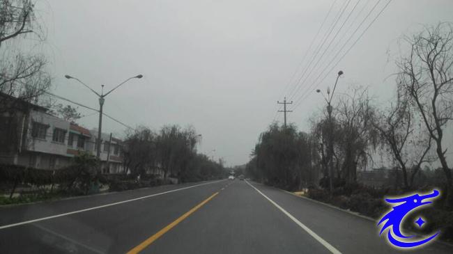 德阳城市群快速通道罗江段改造工程